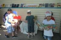 В Дудинке открыли «Летний читальный зал»
