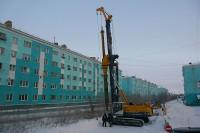 Реконструкция коллектора по улице Матросова продолжается