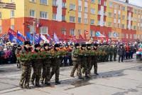В Дудинке идет подготовка к празднованию Дня Победы