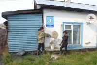 В дудинских поселках приступили к работам по благоустройству