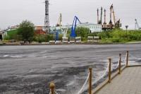 Официальное название присвоено — площадь Портовиков