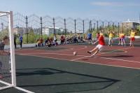 Дудинская молодёжь сыграет в футбол на улице
