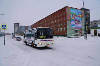 В праздничные дни движение городского автотранспорта изменится