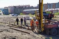 В Дудинке продолжается сооружение этнокомплекса Таймыр Моу