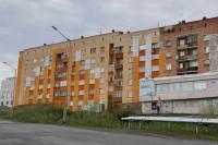 Дудинские дома обновляют цвета своих фасадов