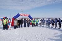 Старт гонкам в Дудинке дала легендарная лыжница
