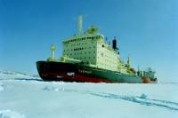 В Дудинке началась подготовка к ледоходу