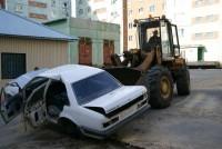 Городские дворы освободили от автохлама