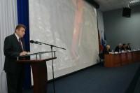 Глава Дудинки выступил перед активом района