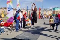 В Дудинке прошел праздник профессионалов и любителей спорта