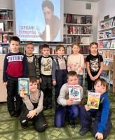 Юных дудинцев познакомили с творчеством Гаршина