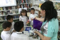 В Дудинке помогли детям подготовиться к школе