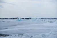 В Потапово — подвижка льда