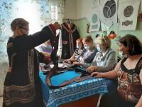 Мини-воркшопы по пошиву долганской одежды прошли в поселке Левинские Пески