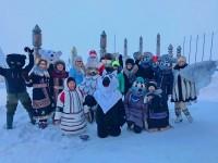 Жителям и гостям Дудинки подарили запоминающийся праздник