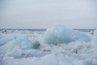 Кромка льда в 419 км от Дудинки