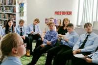 Дудинские старшеклассники читают классику вслух
