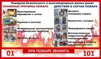 Дудинцам напоминают о правилах пожарной безопасности