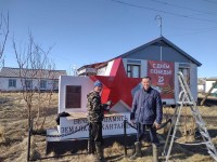 Дудинские посёлки готовятся к юбилею Победы