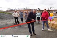 В Дудинке состоялось открытие новой детской площадки