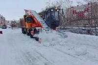 Снег с улиц Дудинки будут убирать две подрядные организации