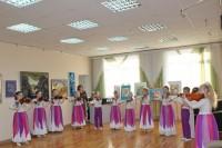 В детской школе искусств открылась выставка