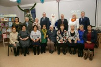 Глава города поздравил почетных граждан с наступающим Новым годом