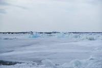 Дудинцы в ожидании ледохода