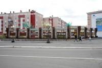 В Дудинке продолжаются работы по городскому благоустройству