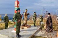В Дудинке увековечили память о пограничниках Крайнего Севера