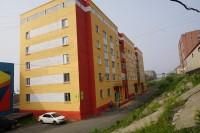 Работы по обновлению фасадов официально завершены