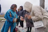Культработники Дудинки принимали гостей из Салехарда