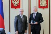 В Красноярске вручили памятные знаки победителям Всероссийского конкурса лучших проектов создания комфортной городской среды