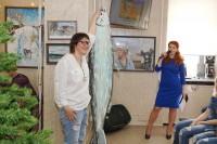 В Дудинке открылась выставка красноярской художницы