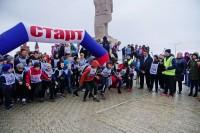 Дудинцы бежали всероссийский кросс