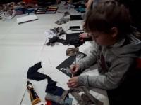 Юные художники Дудинки расширили знания об искусстве