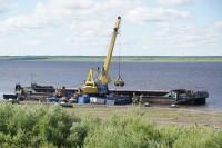 В дудинские поселки продолжается доставка угля и ГСМ