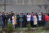 Дудинцы присоединились к международной акции «Сады Памяти»