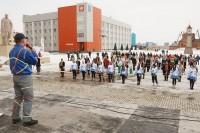 В Дудинке наградили танцевальные коллективы