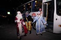 Дудинские культработники поздравили пассажиров