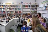 Всей семьей в библиотеку