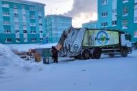 Вывоз мусора в Дудинке осуществляется в штатном режиме