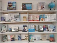 Любителей науки приглашают на книжную выставку