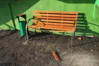 Объекты благоустройства регулярно подвергаются воздействию вандалов
