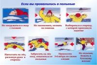 Дудинцам напоминают правила безопасности при нахождении на льду в зимний период