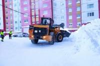 Подрядчики проинформировали о проведении снегоуборочных работ