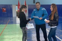 В Дудинке наградили победителей Спартакиады отряда «Зеленый патруль»