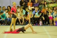 В Дудинке прошли соревнования по спортивной акробатике