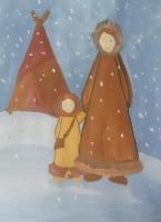 В Волочанке ко Дню матери открылась художественная выставка