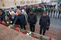 День памяти и скорби начался митингом у мемориала павшим героям
